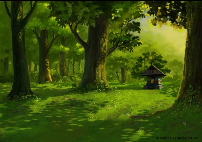 2d animation movie background manikandan